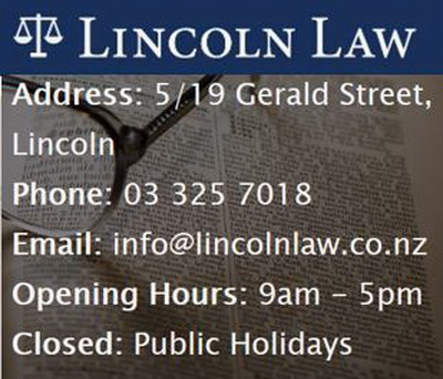 28 Lincoln Law