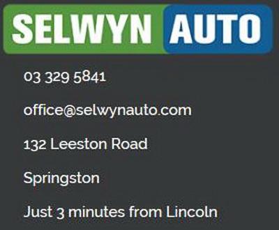 Selwyn Auto