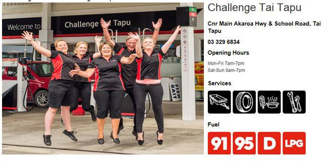 28 Challenge Tai Tapu