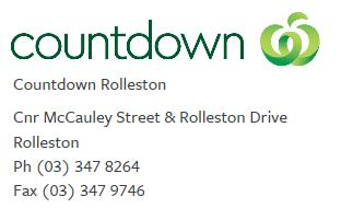 32 Countdown Rolleston