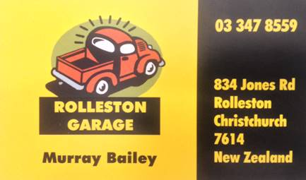 Rolleston Garage